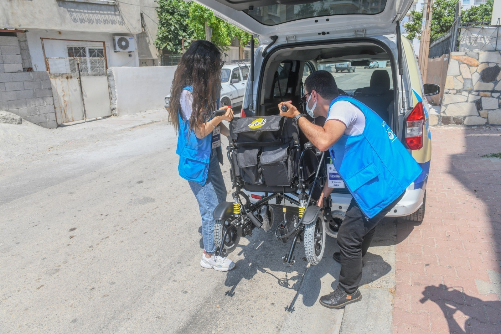 yenisehir belediyesinden engelli bireylere akulu