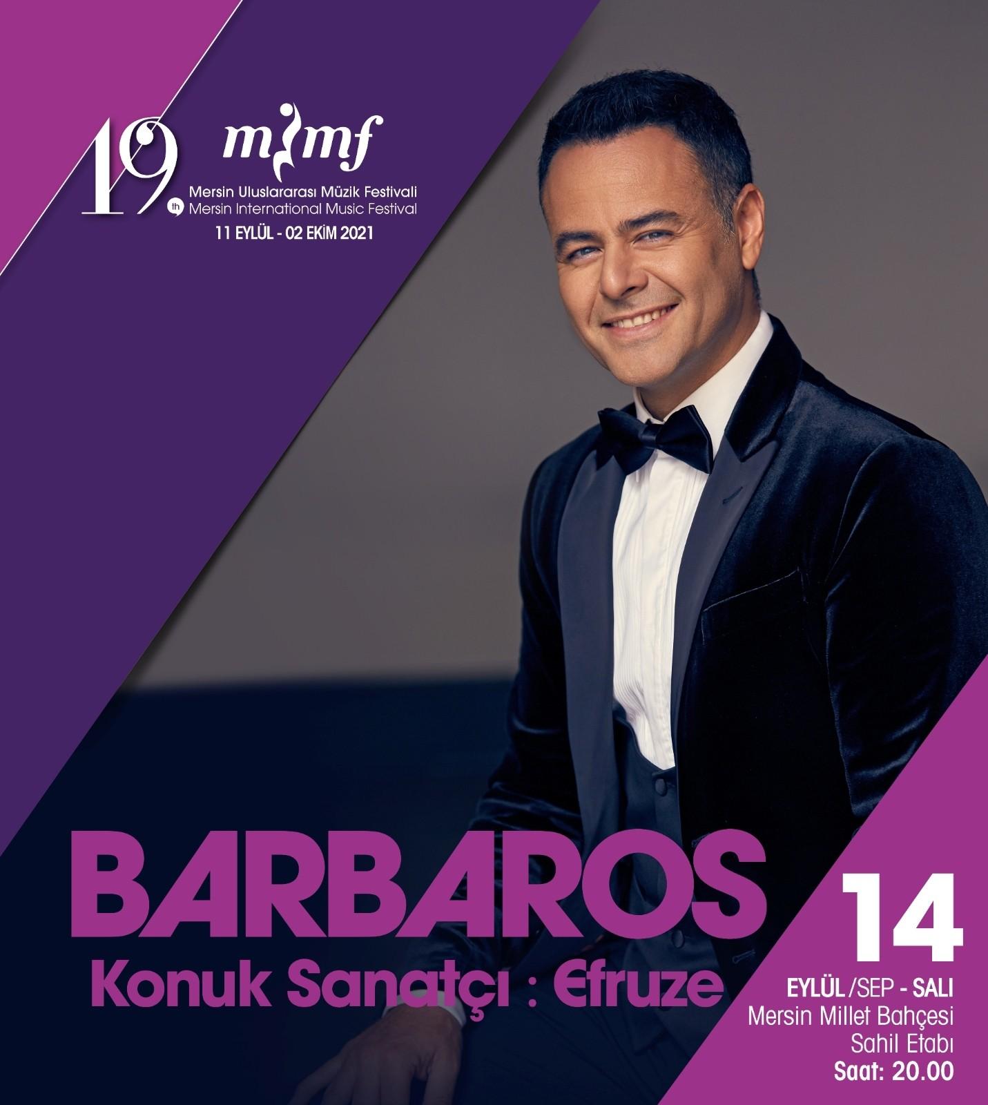 barboras buyukakkan 19 mersin uluslararasi muzik festivalinde sahne alacak