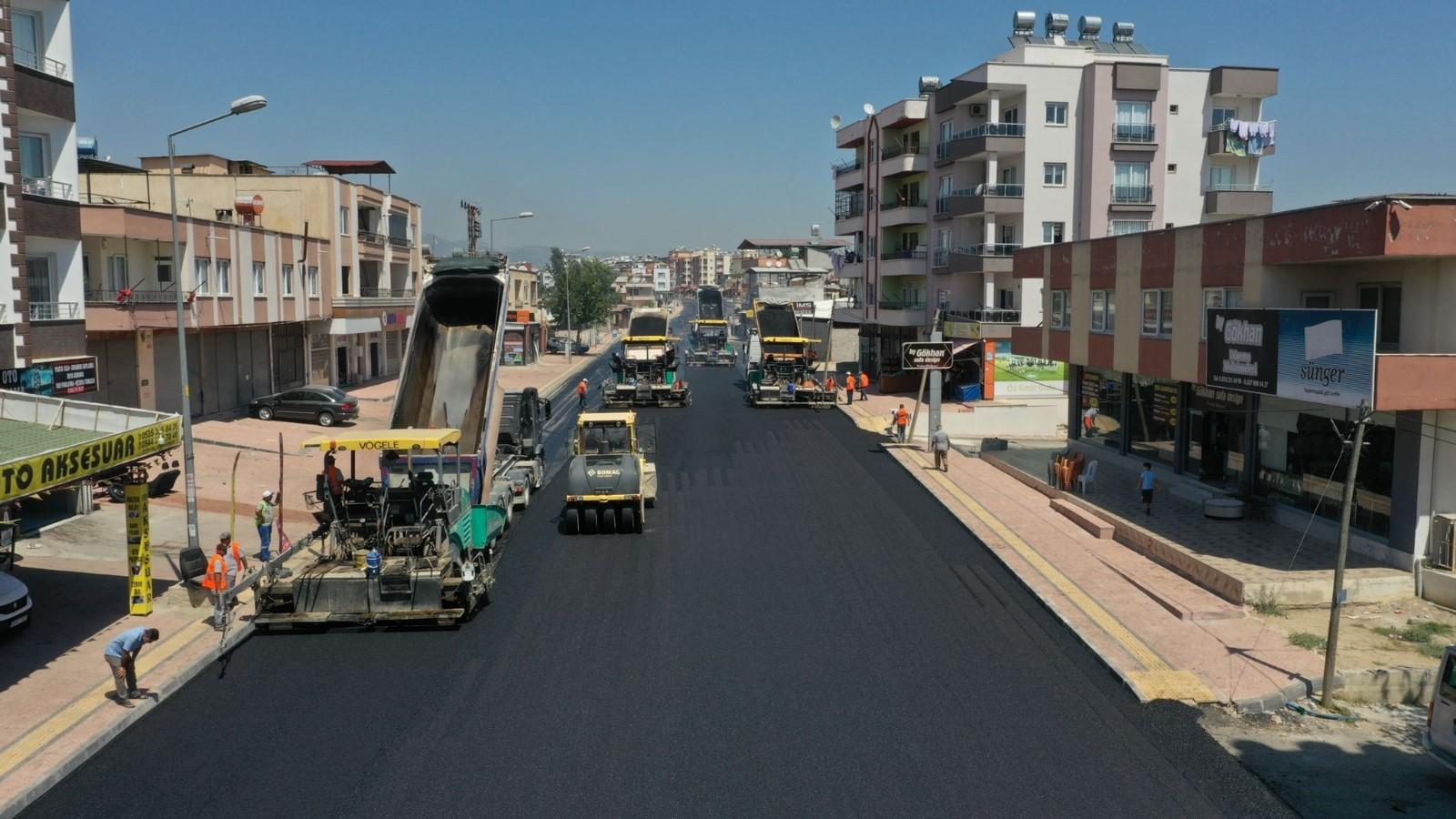 ciftciler caddesi yenileniyor